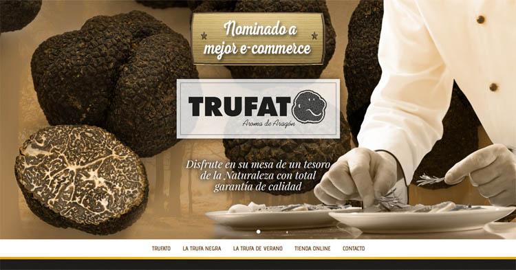 Trufato, web candidata a mejor e-commerce Premios Ara´gon en la Red